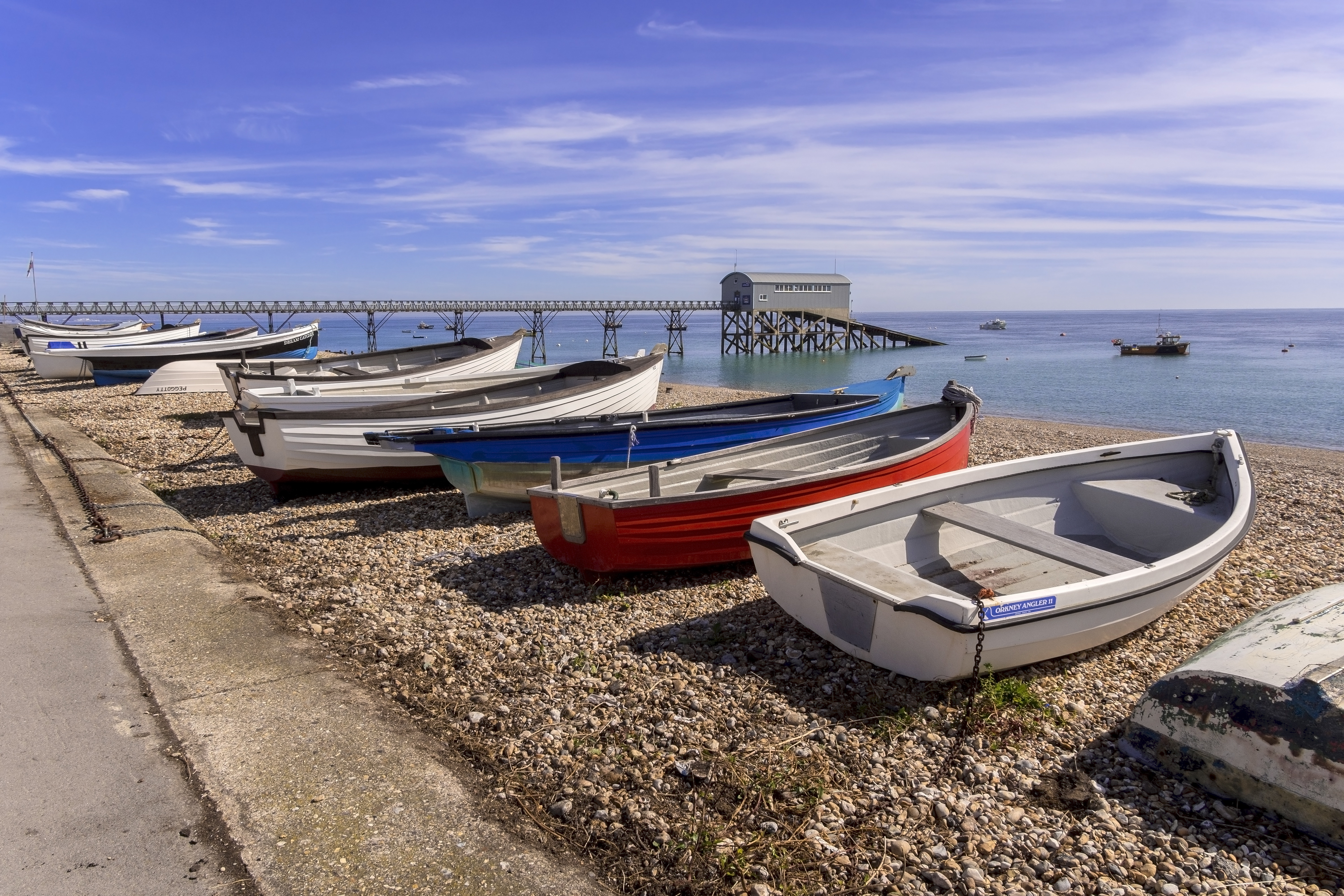fishing boats at Selsey