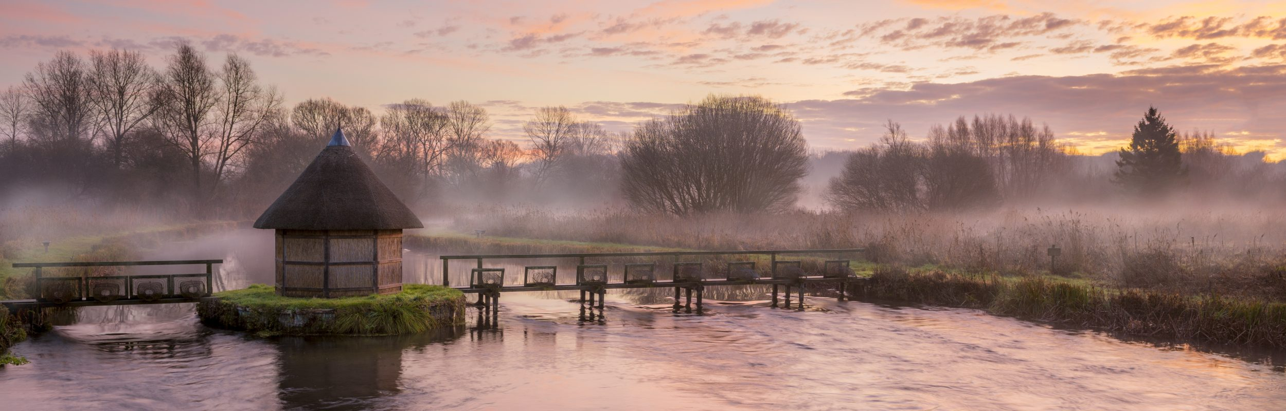 River Test in Hampshire.